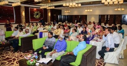 Invitees and ZP Members during the panel discussion for the Training Programme for Zilla Panchayat Members of North & South Goa